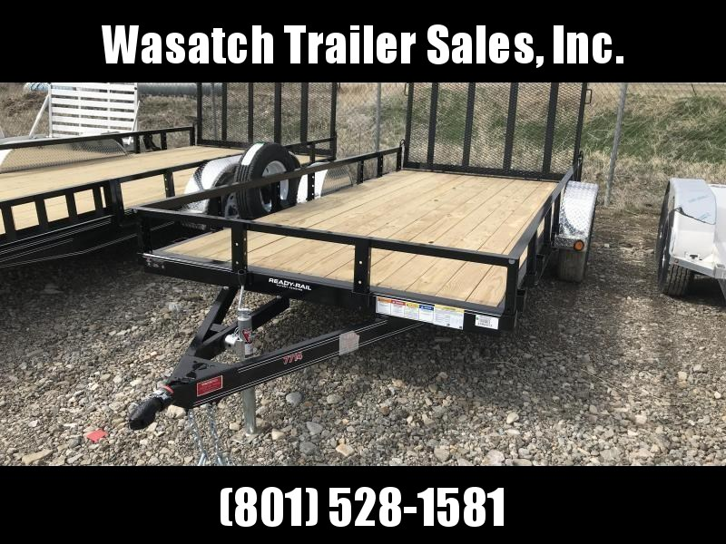 2019 PJ Trailers 14ft - 77 in. Single Axle Channel Utility (U7) Utility Trailer