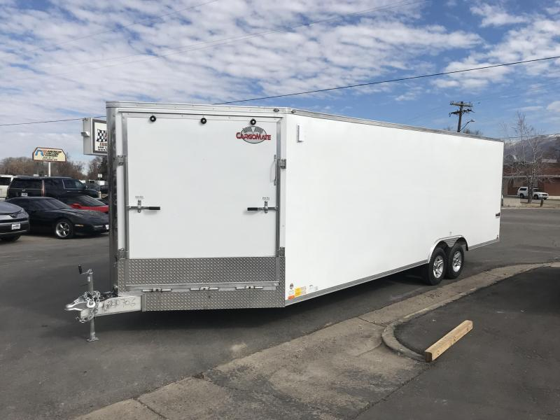2018 Cargo Mate 29 RedLine Snowmobile Trailer