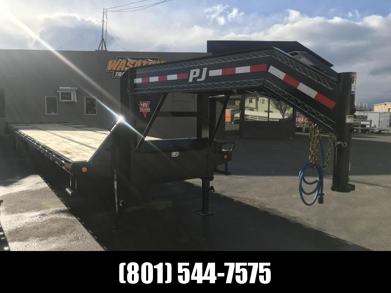 2019 PJ Trailers 40ft - Gooseneck Low-Pro Flatdeck with Duals (LD) Flatbed Trailer