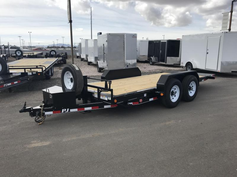 2019 PJ Trailers 16 CC Tilt Equipment Trailer
