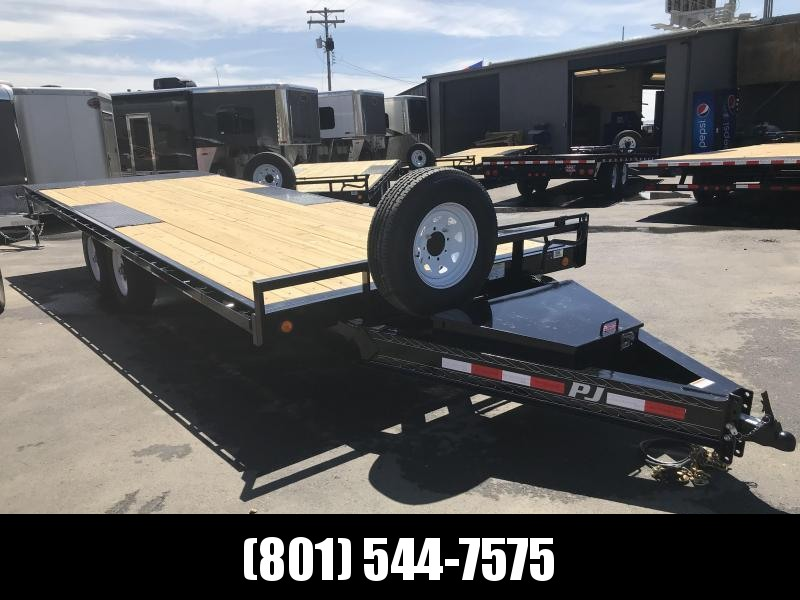 2019 PJ Trailers 22ft - Deckover Tilt (T8) Equipment Trailer