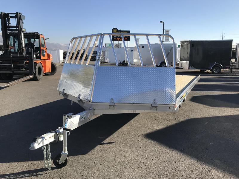2018 Aluma 8616 Drive On/Off Snowmobile Trailer