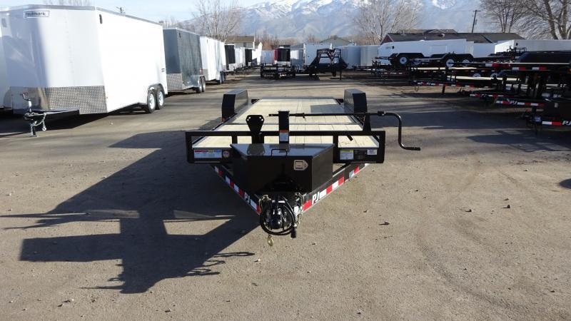 2019 PJ Trailers 22 Tilt Equipment Trailer