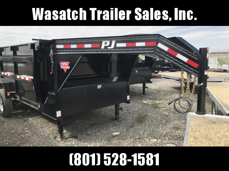 2019 PJ Trailers 14ft Low Pro High Side Dump (DM) Dump Trailer