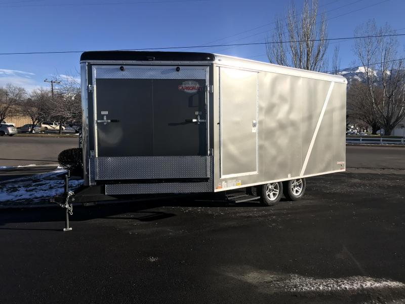2018 Cargo Mate 19 Snobird Snowmobile Trailer