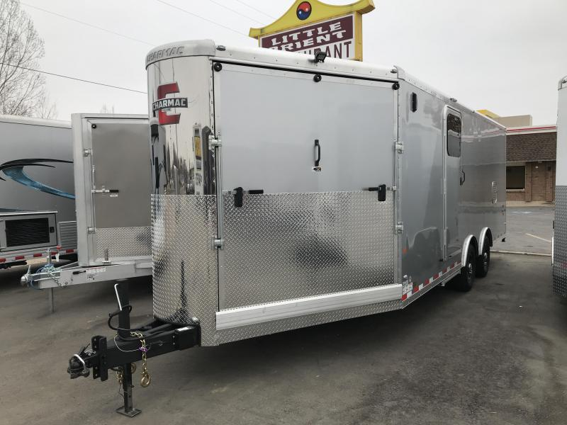 2019 Charmac Trailers 28ft Tri Sport Snowmobile Trailer