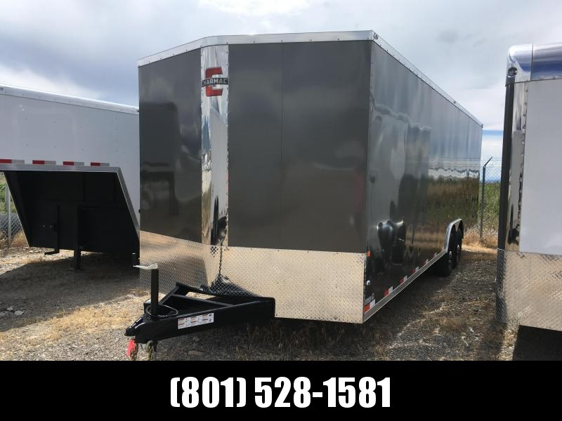 100x28 Charcoal Charmac Stealth Carhauler with Drive over Fenderwells