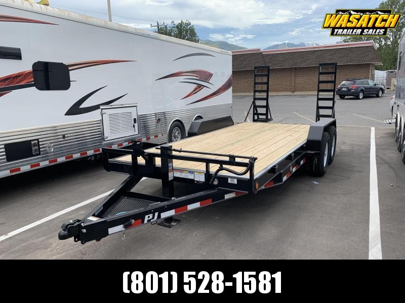 PJ Trailers 6 in. Channel (CC) Carhauler Trailer