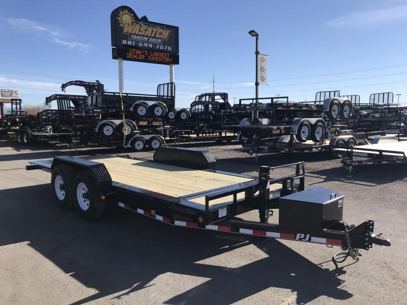 2018 PJ Trailers 18 Tilt Equipment Trailer