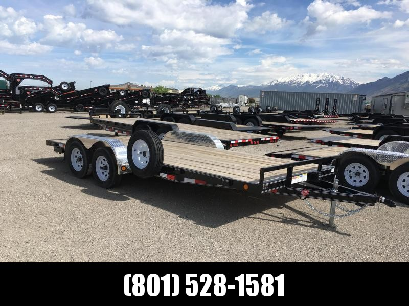 "18' PJ Trailers 4"" Channel Carhauler"