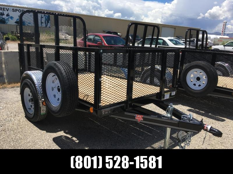 5x8 PJ Utility Trailer (U6) with 2' Expanded Sides