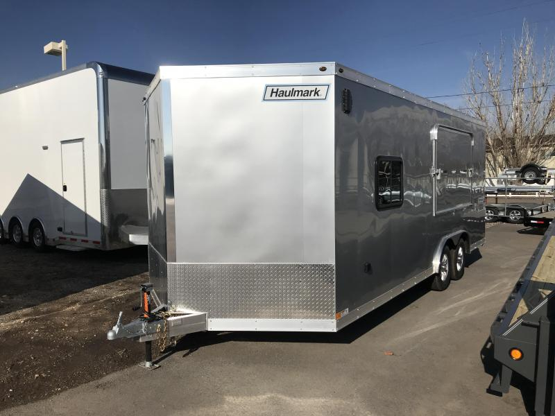 2019 Haulmark Aluminum Enclosed Cargo Trailer with Tent
