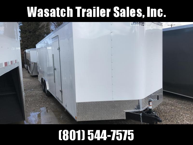 2019 Haulmark 8.5X24 White Passport Enclosed Cargo Trailer