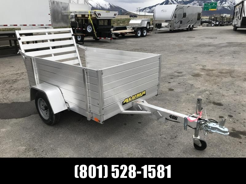 "2019 Aluma 486 Solid Side 24"" Utility Trailer"