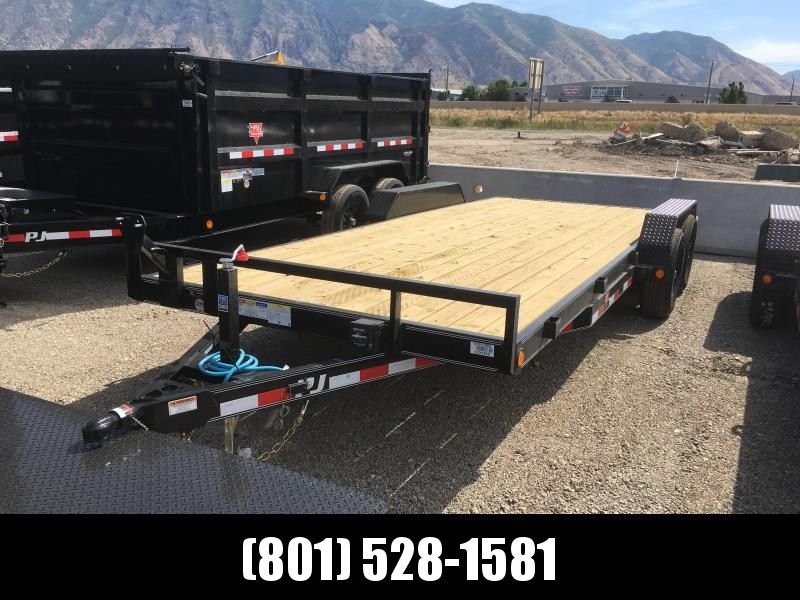 PJ Trailers 20 ft. - 5 in. Channel Equipment (CE) Trailer
