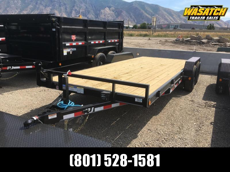 "PJ Trailers 5"" Channel Equipment (CE) Equipment Trailer"