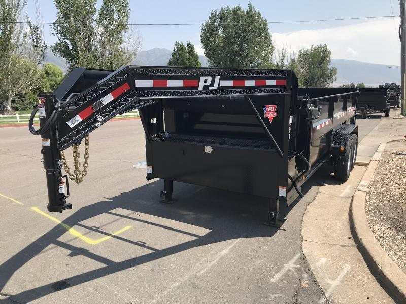 2019 PJ 16ft Low Pro High Side DMR Dump Trailer