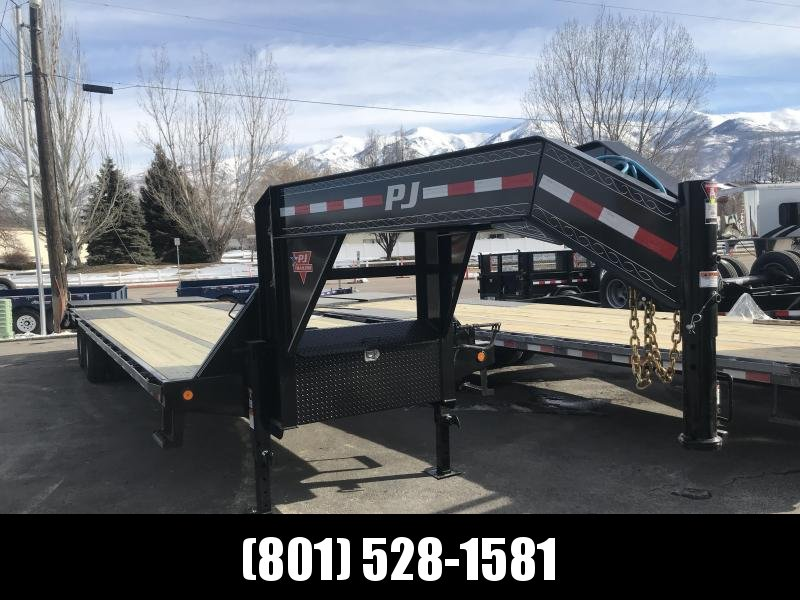 2019 PJ Trailers 30ft - Low-Pro Flatdeck with Duals (LD) Flatbed Trailer