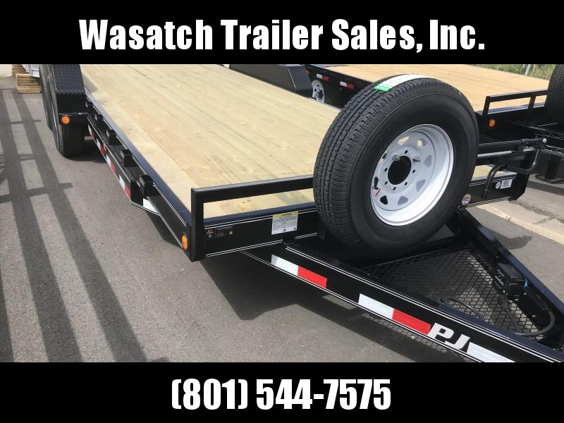 2019 PJ Trailers 20ft - 6 in. Channel Equipment (CC) Equipment Trailer