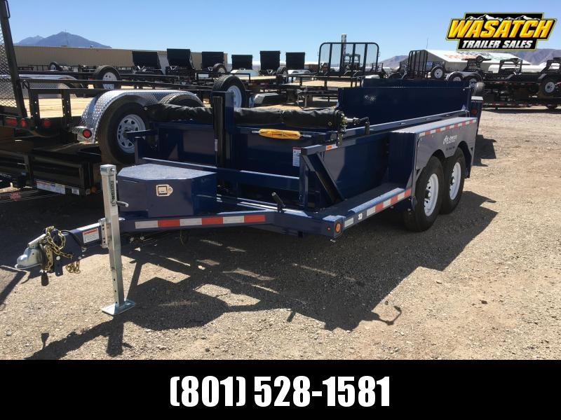 Air Tow 3D-12 Drop-Deck/Dump Trailer