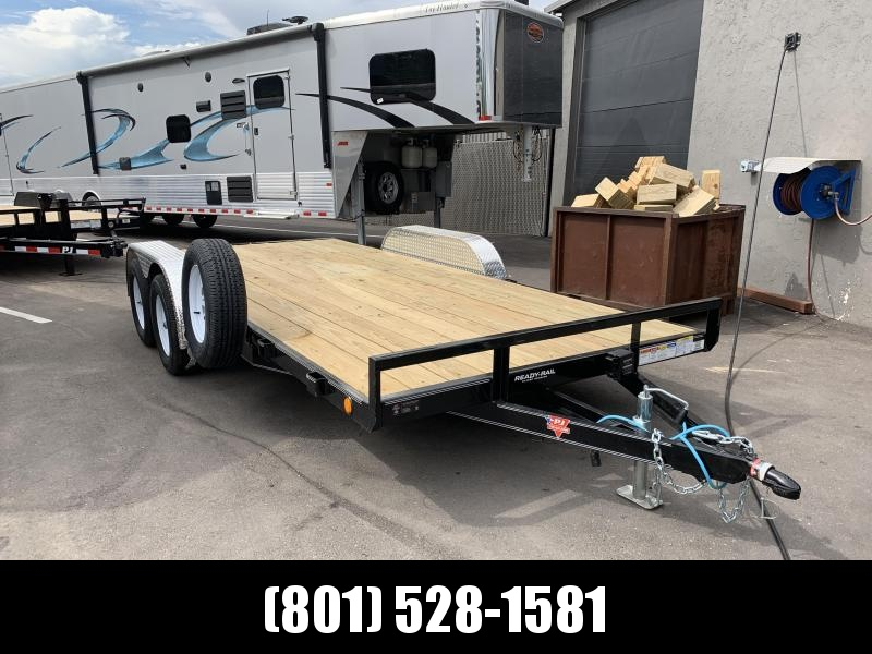 2020 PJ Trailers 4 in. Channel Carhauler (C4) Car / Racing Trailer