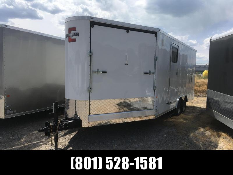 2019 Charmac Trailers 24' Stealth Trisport Snowmobile Trailer