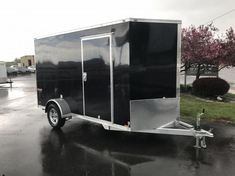 2019 Cargo Mate 6 x 12 Aluminum Enclosed Cargo Trailer