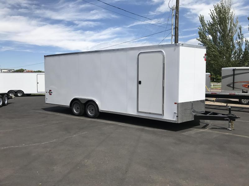 2018 Charmac Trailers 22 Stealth Enclosed Car Hauler