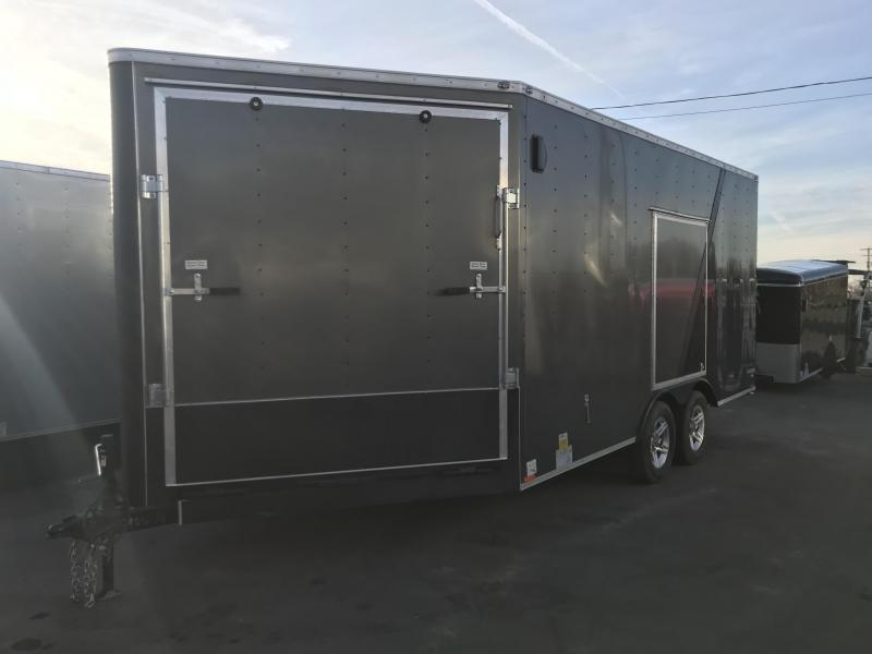 2018 Cargo Mate 21X8.5 Snowmobile Trailer