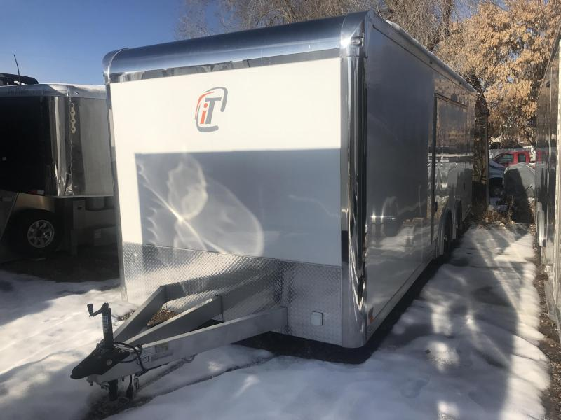 2017 inTech Trailers 24ft Used iCon Car / Racing Trailer
