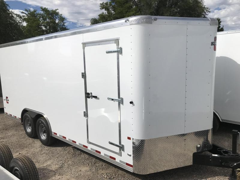 2018 Charmac Trailers 100x20 Commercial Duty Enclosed Cargo Trailer