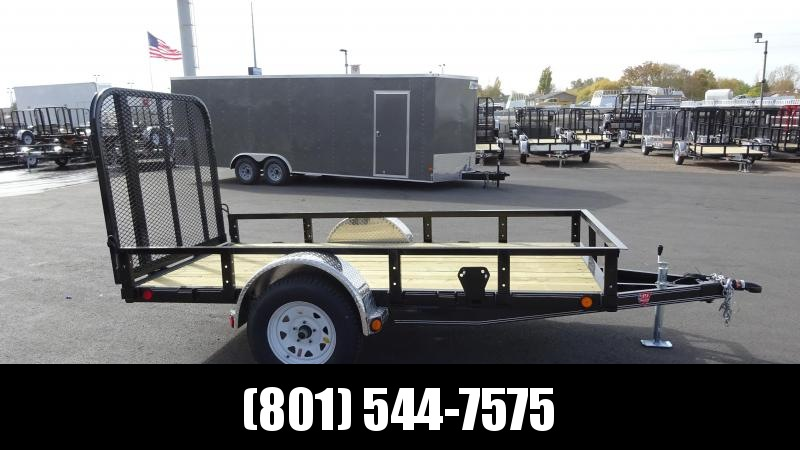 PJ 5x10 Single Axle Channel Utility (U6) Utility Trailer