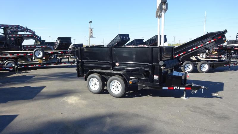 "2018 PJ Trailers 6X10 Dump Trailer with 18"" Extensions"