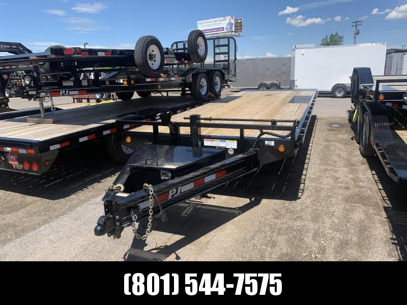 PJ Deckover Tilt (T8) Equipment Trailer
