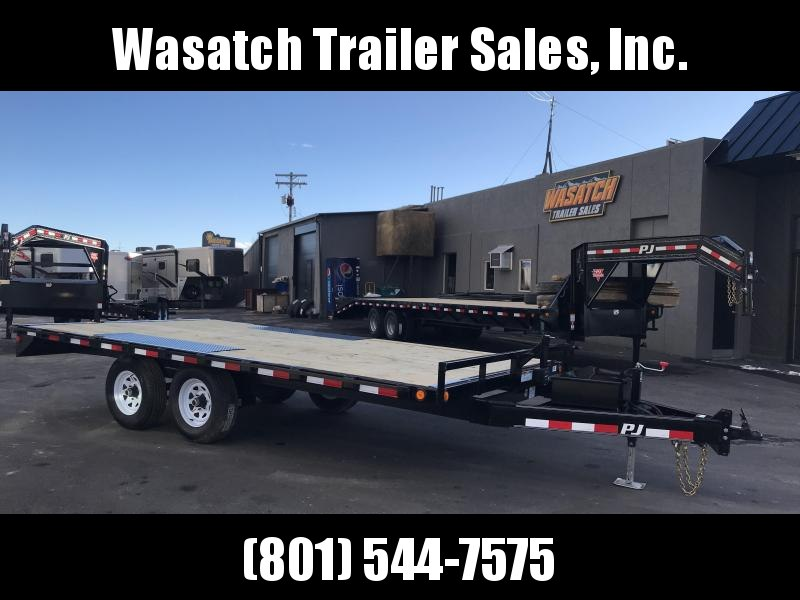2019 PJ Trailers 20ft - Medium Duty Deckover 6 in. Channel (L6) Flatbed Trailer