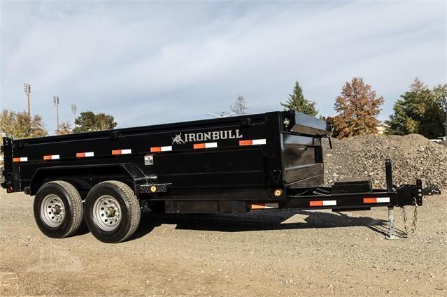 2020 Iron Bull DBL LOW-PRO DUMP TRAILER Dump Trailer