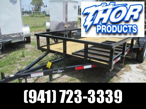 Down 2 Earth 6 x 12 SA Utility Trailer
