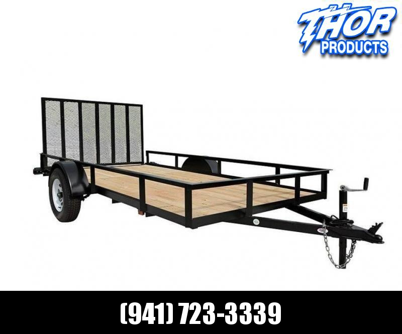 "NEW 6'4"" x 12 Utility Trailer w/Ramp"