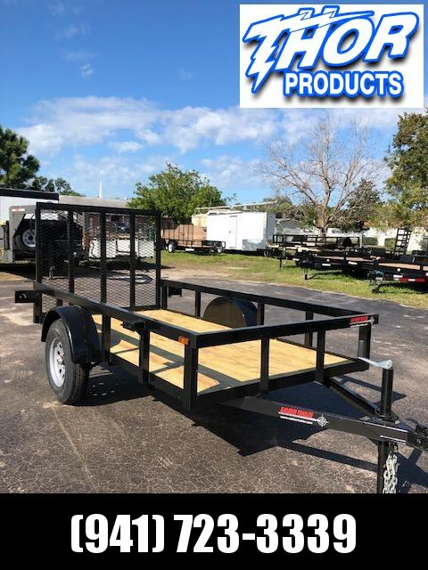 NEW 5x10 Utility Trailer w/Tube Top * LED lights * Ramp