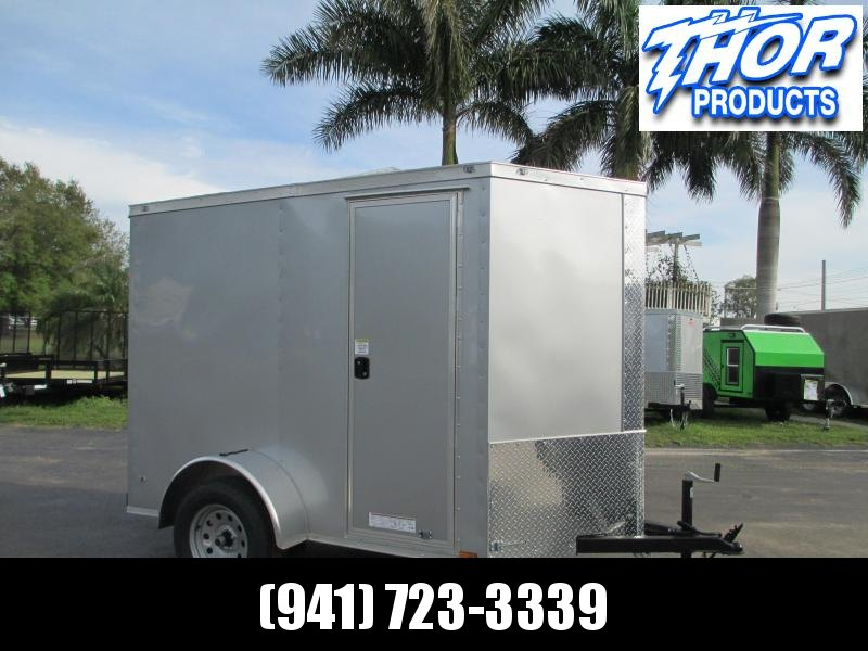 NEW 5x8V Cargo Trailer side door *ramp rear door 6' Interior height!!