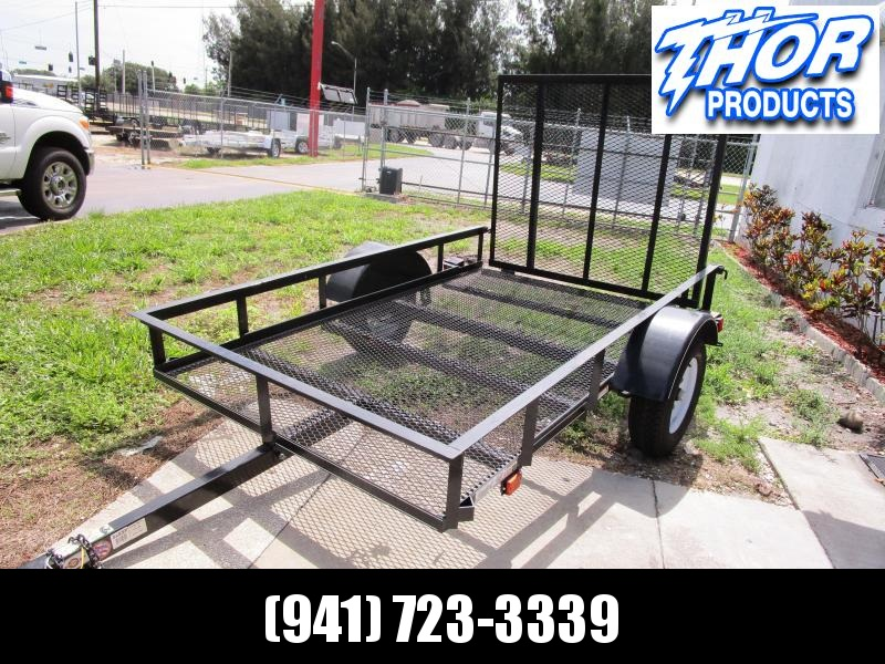 USED 2019 Carry-On 5x8 Utility Trailer w/Ramp