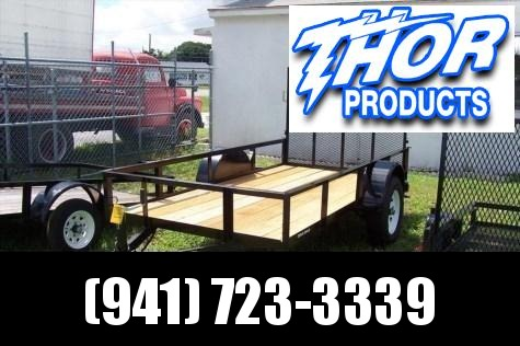 NEW 5X10 Utility Trailer w/Ramp