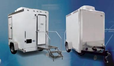 101B LuxuryLav Narrow Body Restroom/Shower Trailer