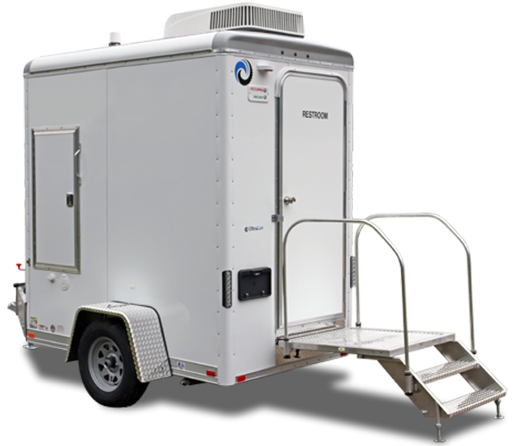 101C  LuxuryLav Narrow Body Single Stall Restroom Trailer