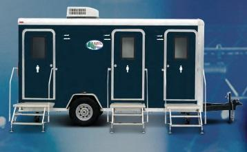 19A LuxLav Century V Mini Shower / Restroom Trailer