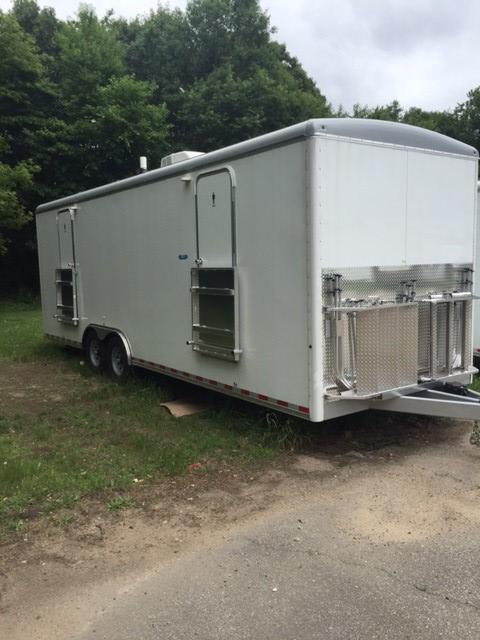 108 LuxLav 8-Stall WC Shower Trailer