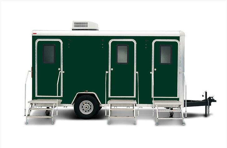 103A LuxuryLav Narrow Body III Stall Restroom Trailer