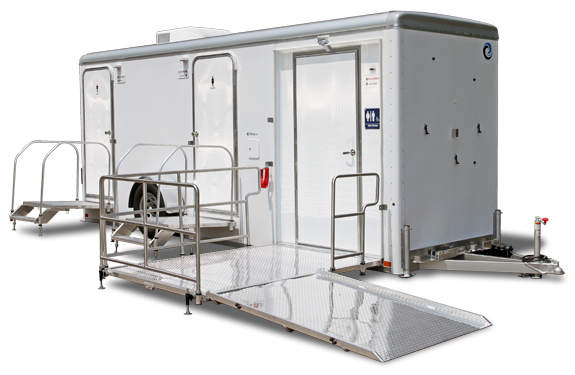 103E LuxuryLav Narrow Body ADA+2 Restroom Trailer