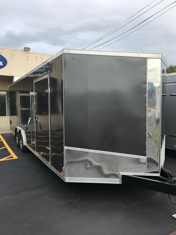 2018 Discovery Trailers Reed Custom Rover Edition Enclosed Cargo Trailer