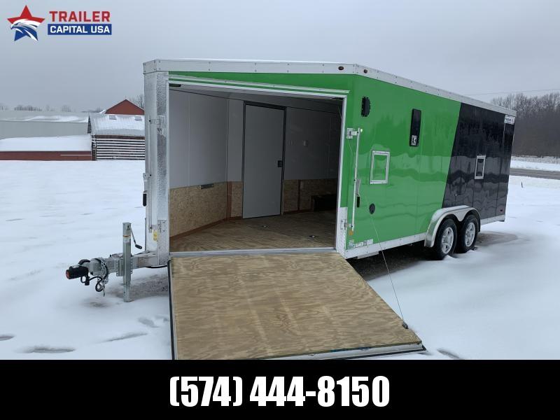 2020 Haulmark 7.5'x24' Aluminum Snowmobile Trailer (6'6